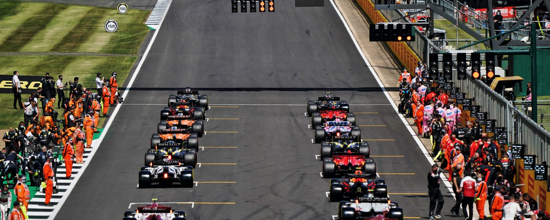 F1 GP Gran Bretagna 2020, Silverstone: la griglia di partenza