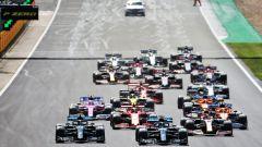 F1 GP Gran Bretagna 2020, Silverstone: la partenza della gara