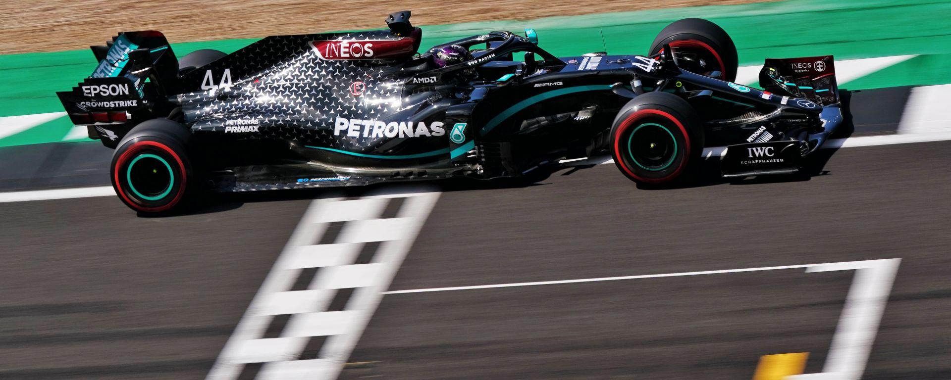 F1 GP Gran Bretagna 2020, Silverstone: Lewis Hamilton (Mercedes AMG F1)