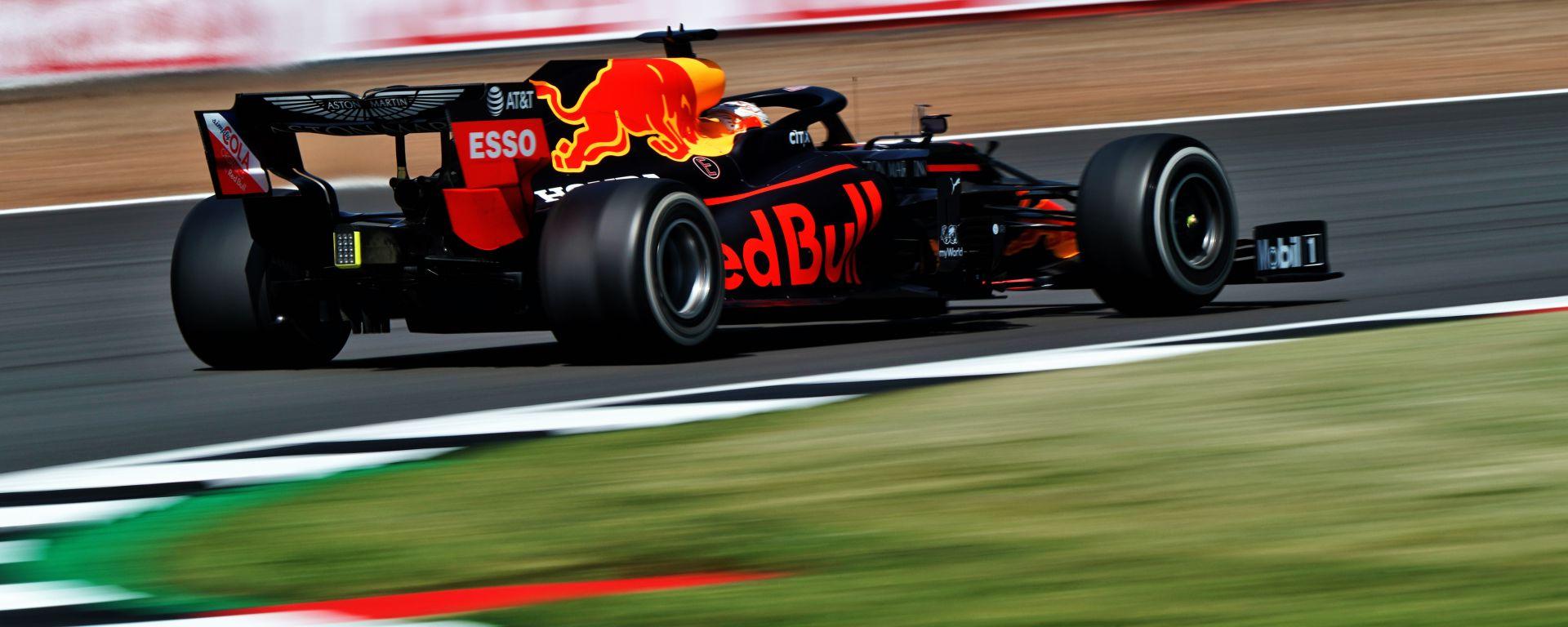 F1 GP Gran Bretagna 2020, Silverstone: Max Verstappen (Red Bull Racing)