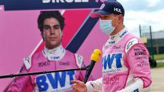 F1 GP Gran Bretagna 2020, Silverstone: Nico Hulkenberg (Racing Point) intervistato nel paddock