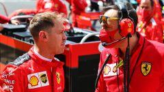 Vettel, silenzio radio dopo la gara di Silverstone