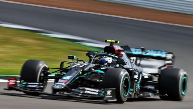 F1 GP Gran Bretagna 2020, Silverstone: Valtteri Bottas (Mercedes AMG F1)