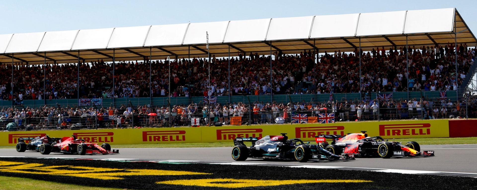 F1, GP Gran Bretagna 2021: le prime fasi di gara
