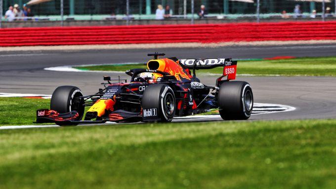 F1, GP Gran Bretagna 2021: Max Verstappen (Red Bull)