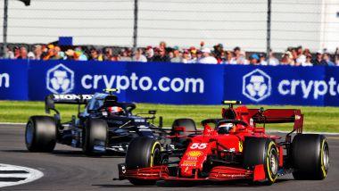 F1 GP Gran Bretagna 2021, Silverstone: Carlos Sainz (Scuderia Ferrari)