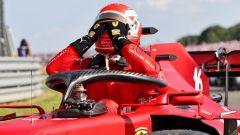 F1 GP Gran Bretagna 2021, Silverstone: Charles Leclerc (Ferrari)