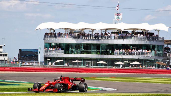 F1 GP Gran Bretagna 2021, Silverstone: Charles Leclerc (Scuderia Ferrari)