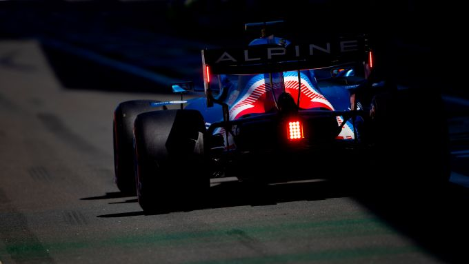 F1 GP Gran Bretagna 2021, Silverstone: Fernando Alonso (Alpine F1 Team)