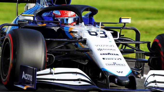 F1 GP Gran Bretagna 2021, Silverstone: George Russell (Williams Racing)