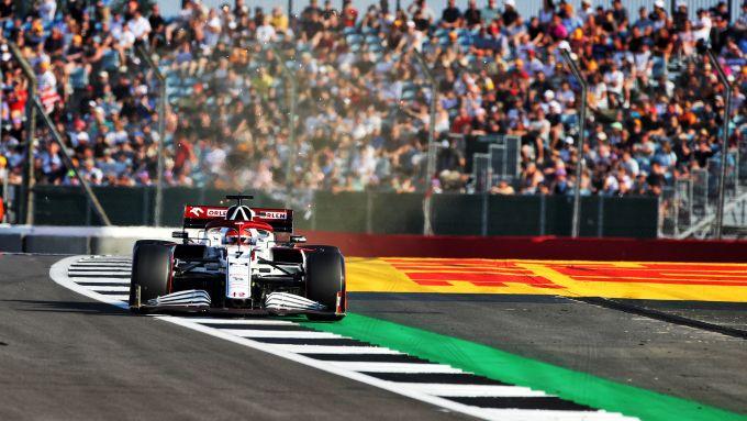 F1 GP Gran Bretagna 2021, Silverstone: Kimi Raikkonen (Alfa Romeo Racing)