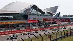 F1 GP Gran Bretagna 2021, Silverstone: la partenza della gara