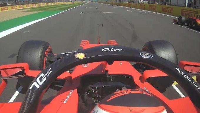 F1 GP Gran Bretagna 2021, Silverstone: la prova di partenza di Carlos Sainz (Ferrari)