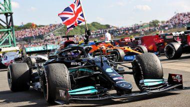 F1 GP Gran Bretagna 2021, Silverstone: Lewis Hamilton (Mercedes)