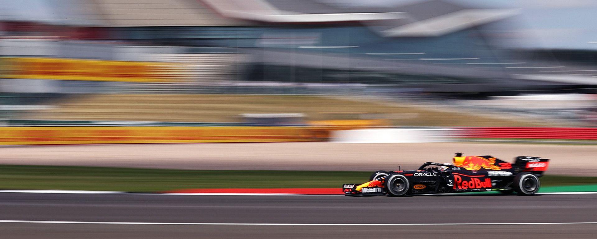 F1 GP Gran Bretagna 2021, Silverstone: Max Verstappen (Red Bull Racing)