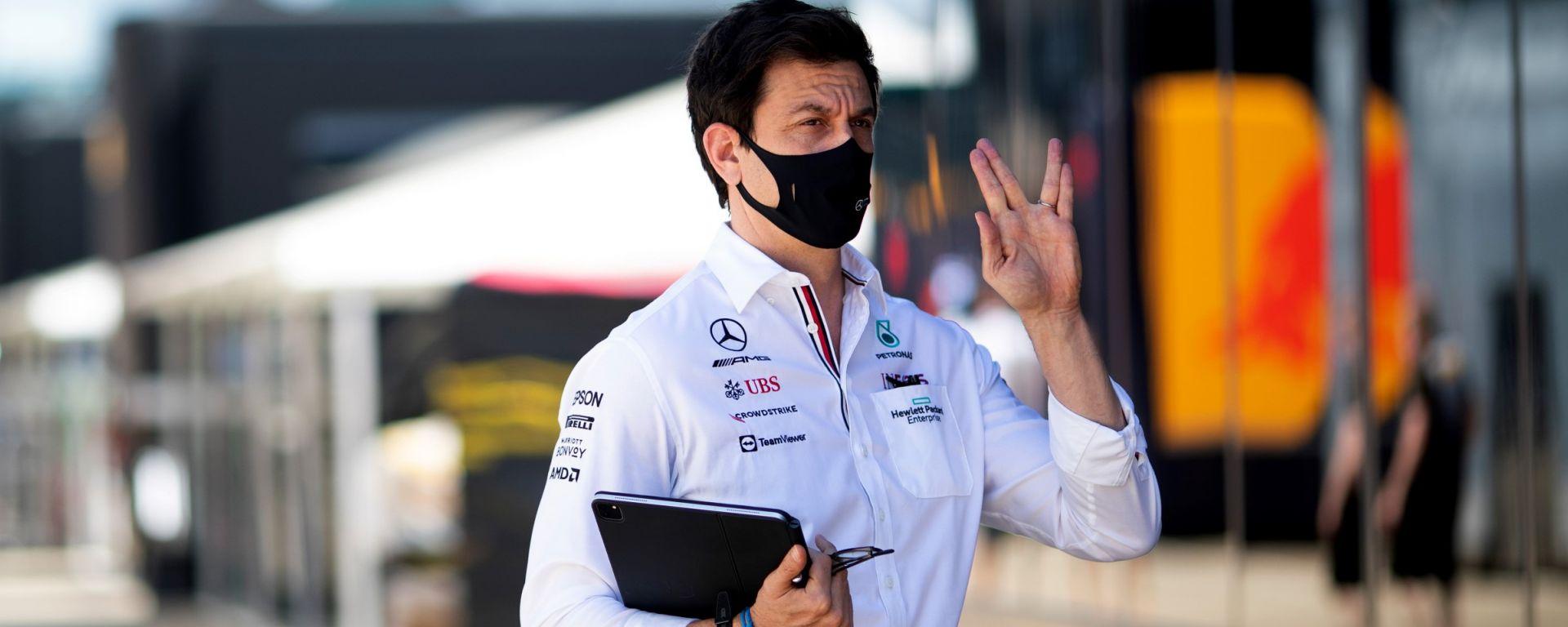 F1, GP Gran Bretagna 2021: Toto Spock