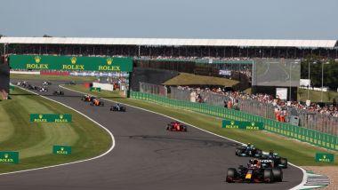 F1, GP Gran Bretagna 2021: un momento della Sprint Race