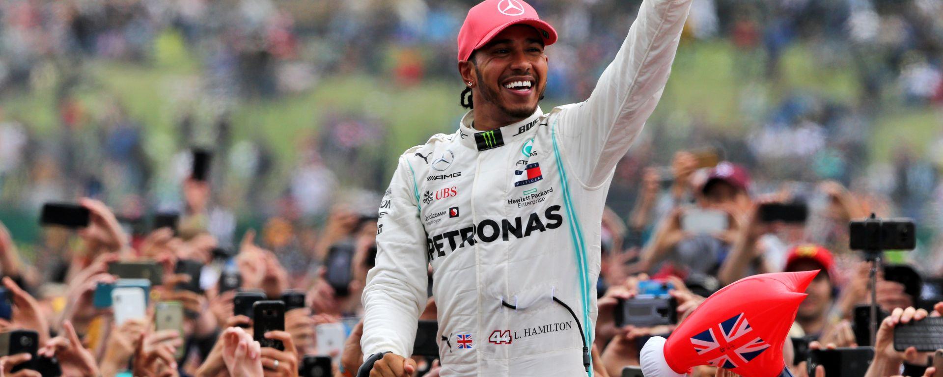 F1, GP Graqn Bretagna 2019: Lewis Hamilton (Mercedes)