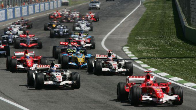 F1, GP Imola 2006: la partenza della gara