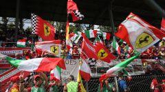 F1 GP Itaia 2ì19, i tifosi della Ferrari a Monza