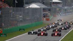 F1 GP Italia 2018, Monza. La partenza
