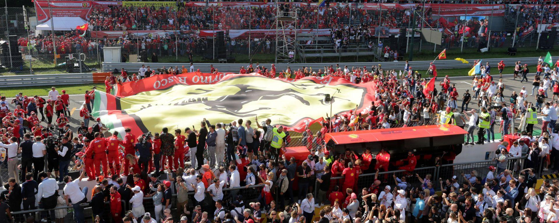 F1, GP Italia 2019: la folla di Monza