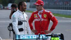 F1: Leclerc strizza l'occhio ai vegani (e a Hamilton)