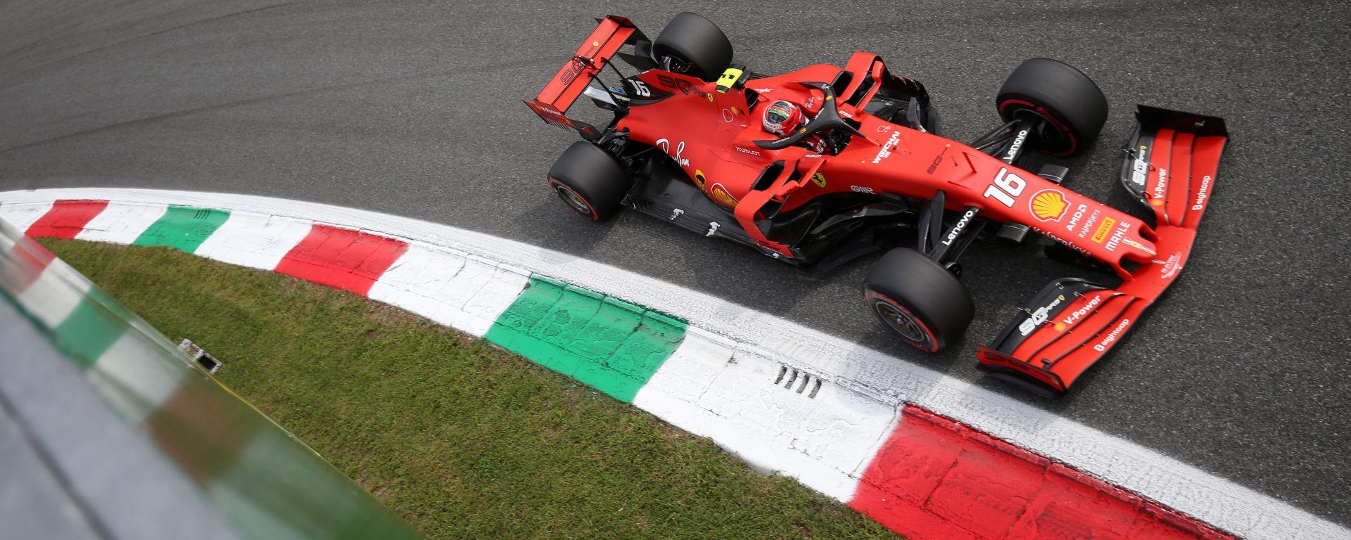 F1 GP Italia 2019, Monza: Charles Leclerc è il poleman