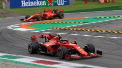 F1 GP Italia 2019, Monza, Charles Leclerc e Sebastian Vettel (Ferrari)