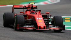 GP Italia 2019, PL1: Leclerc leader, Hamilton 4°
