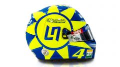 Norris, a Monza con casco tributo a Valentino Rossi