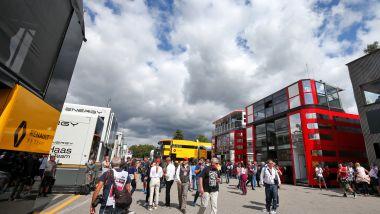 F1 GP Italia 2019, Monza: il paddock della Formula 1
