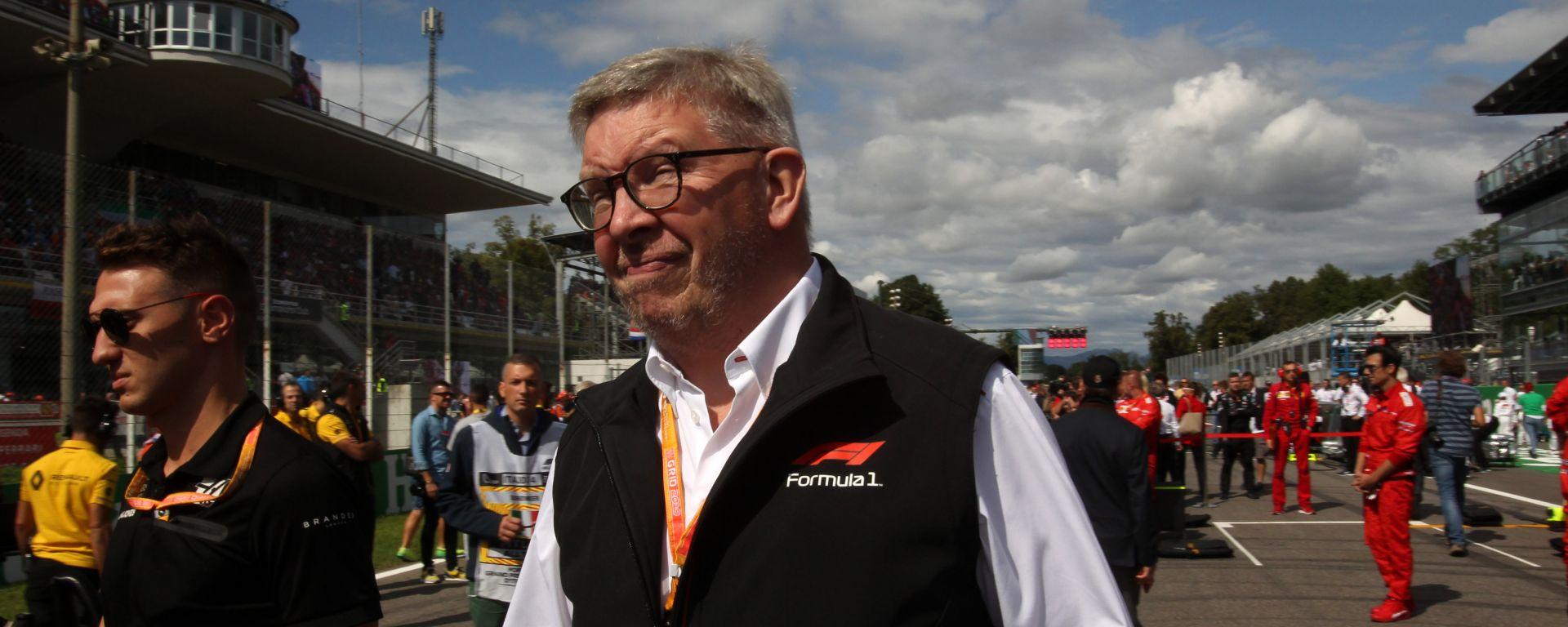 F1 GP Italia 2019, Monza: il responsabile sportivo per Liberty Media, Ross Brawn