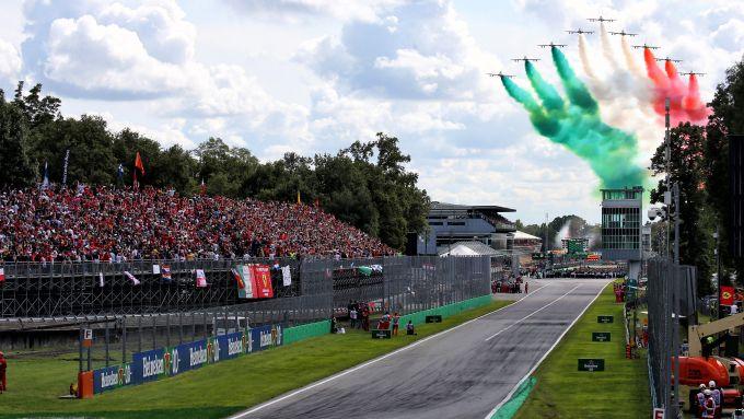 F1 GP Italia 2019, Monza: il rettilineo di partenza