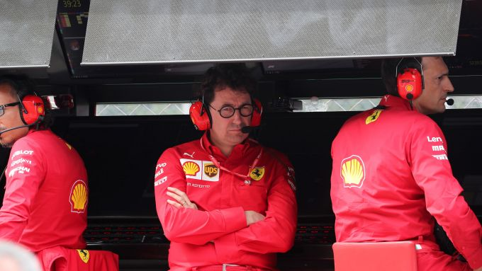 F1 GP Italia 2019, Monza, il team principal della Ferrari, Mattia Binotto