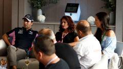 F1 GP Italia 2019, Monza, intervista a Sergio Perez (SportPesa Racing Point)