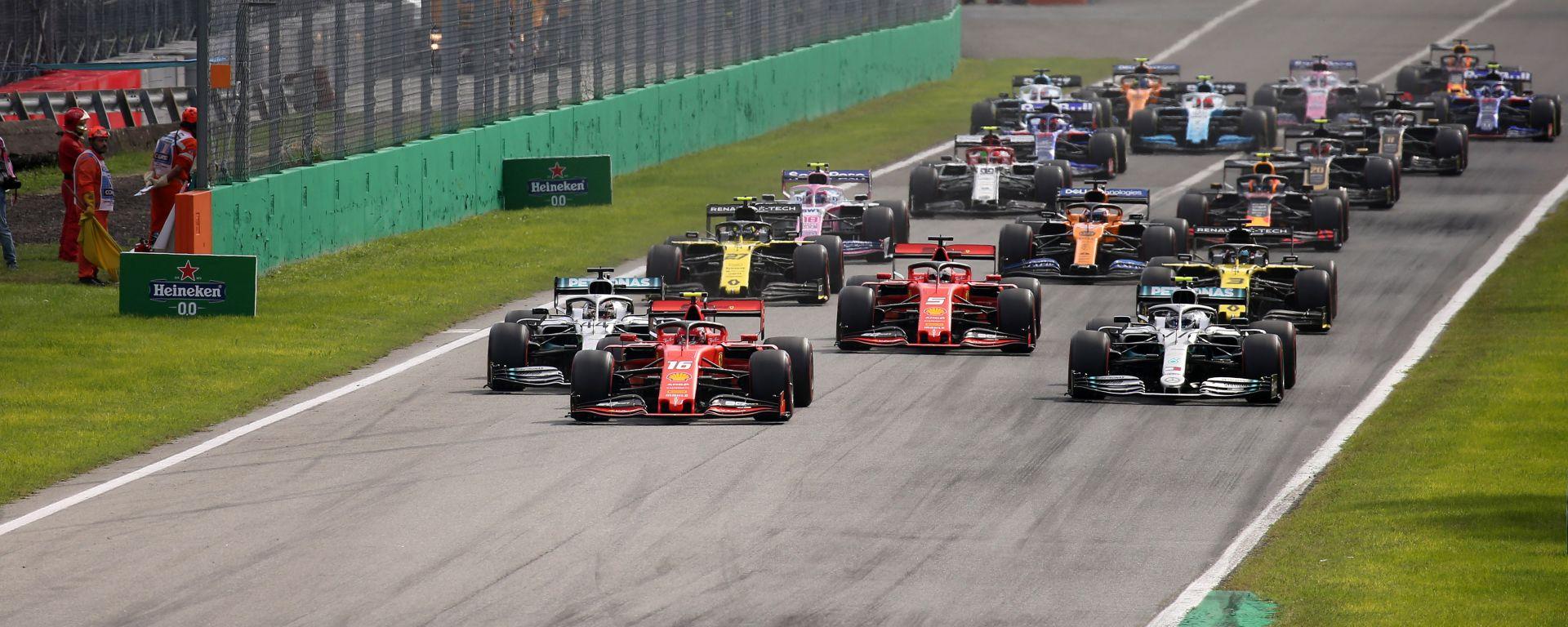 F1 GP Italia 2019, Monza, la partenza
