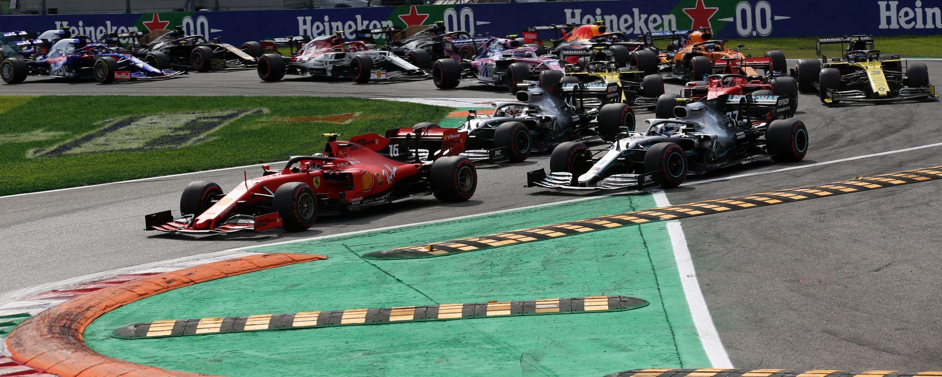 F1 GP Italia 2019, Monza: la partenza