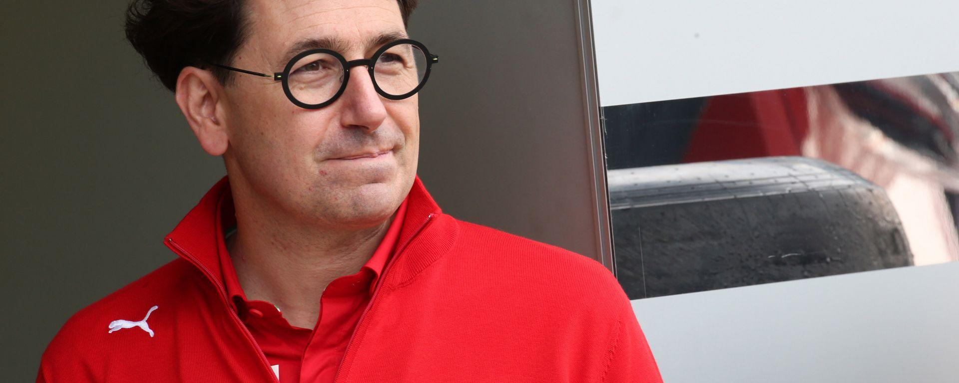 F1 GP Italia 2019, Monza: Mattia Binotto, team principal della Ferrari