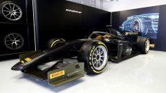 F1 GP Italia 2019, Monza: presentazione delle gomme Pirelli da 18 pollici