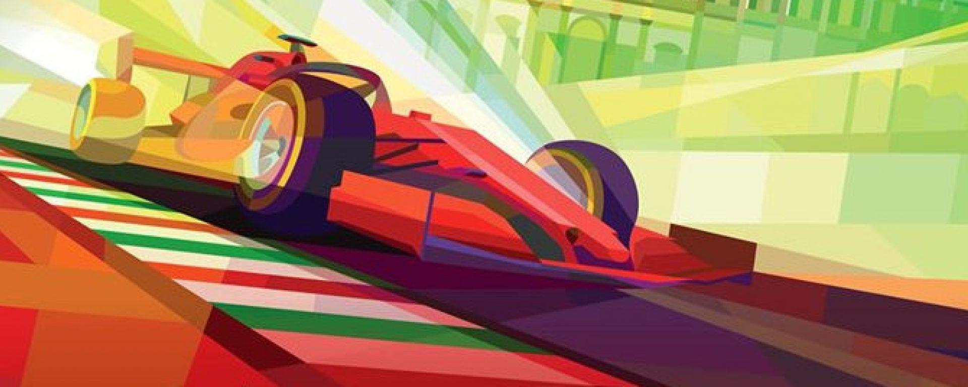 F1, GP Italia 2020: il poster della gara di Monza