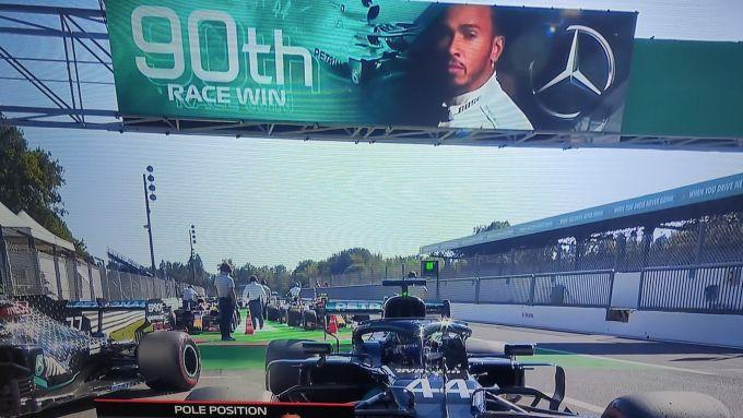 F1, GP Italia 2020: la gufata a Lewis Hamilton dopo la pole position