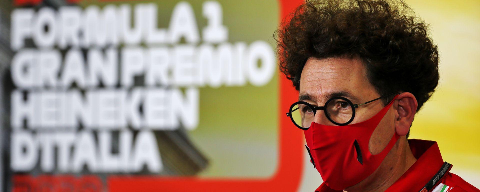F1, GP Italia 2020: Mattia Binotto (Ferrari)