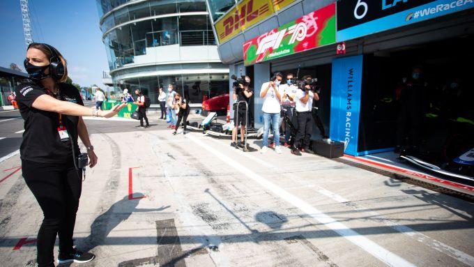 F1 GP Italia 2020, Monza: Claire Williams manda in pista le due monoposto