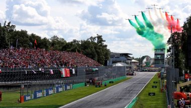 F1 GP Italia 2020, Monza, frecce tricolori