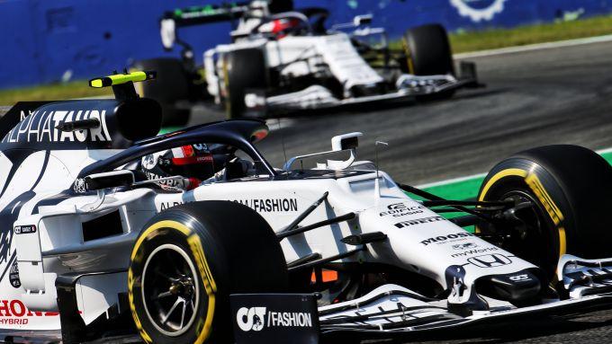 F1 GP Italia 2020, Monza: Pierre Gasly e Daniil Kvyat (AlphaTauri-Honda)