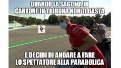 F1, GP Italia 2020: Vettel si gode le qualifiche dalla Parabolica
