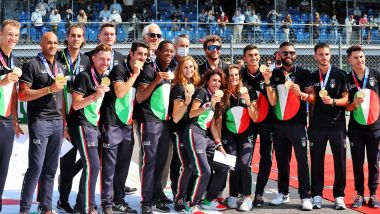 F1, GP Italia 2021: i campioni olimpici italiani presenti a Monza