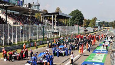 F1 GP Italia 2021, Monza: la griglia di partenza della gara