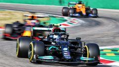 F1 GP Italia 2021, Sprint Qualifying: 1° Bottas, pole Verstappen